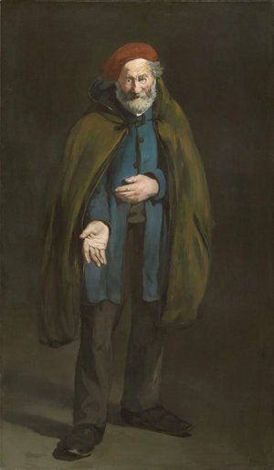 Edouard Manet - Beggar with a Duffle Coat