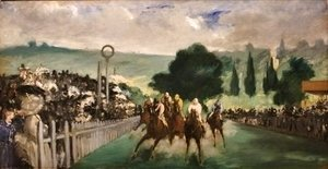 Edouard Manet - The Races at Longchamp 2