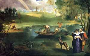 Edouard Manet - Fishing
