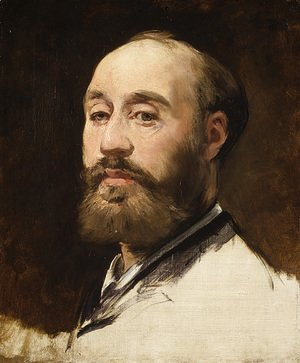 Edouard Manet - Head of Jean Baptiste Faure