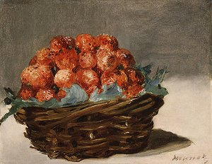 Edouard Manet - Strawberries ca. 1882