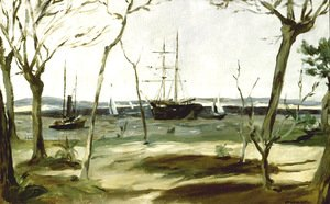 Edouard Manet - The Bassin d'Arcachon