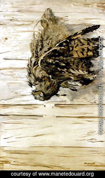 Edouard Manet - The Great Horned Owl