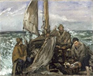 Edouard Manet - The Toilers of the Sea 1873