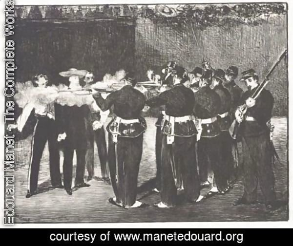 Edouard Manet - Execution Of Maximillian