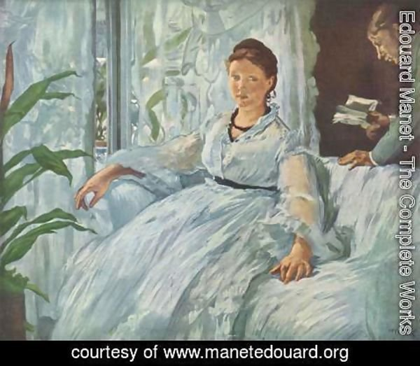 Edouard Manet - The Reading, La Lecture