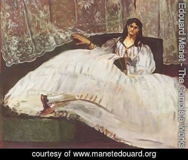 Edouard Manet - Lady with fan