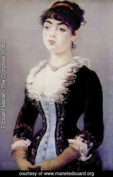 Image result for Object ID: 5197-010  Edouard Manet  Madame Michel-Lévy