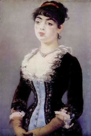 Edouard Manet - Portrait of Madame Michel-Levy