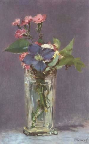 Edouard Manet - Still life with flowers