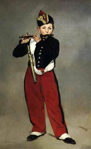 Edouard Manet - The Fife-Player
