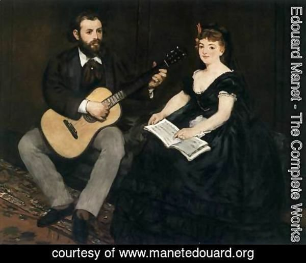 Edouard Manet - Music Lesson