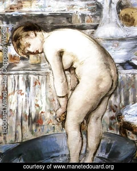 Edouard Manet - The Bath