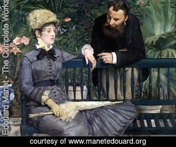 Edouard Manet - In the Winter Garden