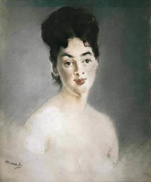 Edouard Manet - Portrait of Madame Jacob