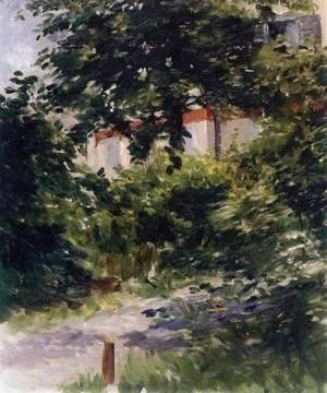 Edouard Manet - House in the Foliage