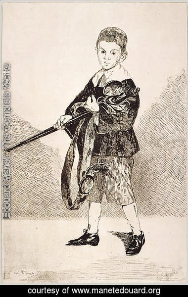 Edouard Manet - The Boy with a Sword