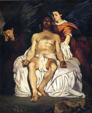 Edouard Manet - The Dead Christ with Angels