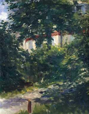 The garden around Manet's house