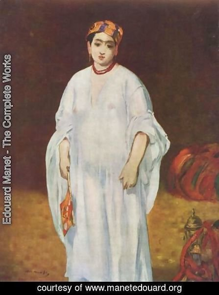 Edouard Manet - Young Woman in Oriental Garb