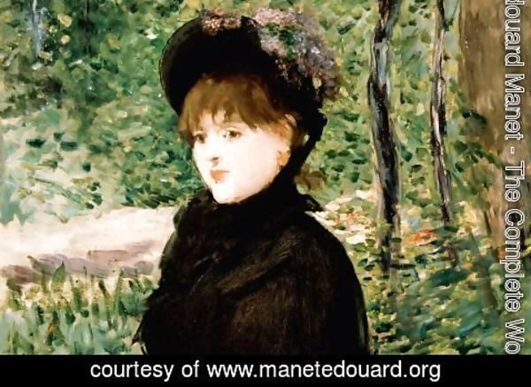 Edouard Manet - The stroll