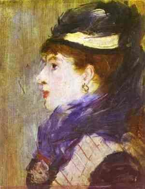 Edouard Manet - Portrait of a Lady