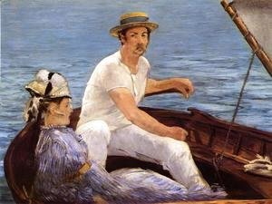 Edouard Manet - Boating  1874