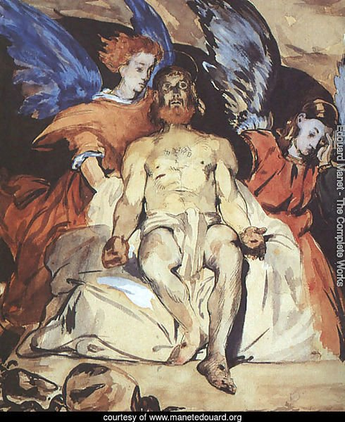 Christ with Angels  1864