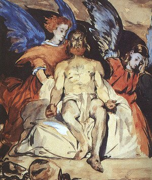 Edouard Manet - Christ with Angels  1864