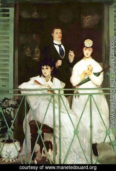 Edouard Manet - The Balcony  1868-69