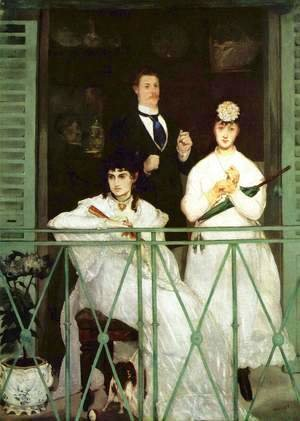 The Balcony  1868-69