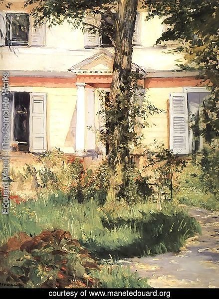 The House at Rueil 1882