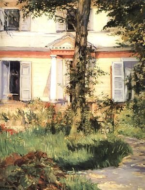 Edouard Manet - The House at Rueil 1882