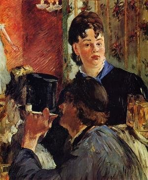 Edouard Manet - The Waitress  1879