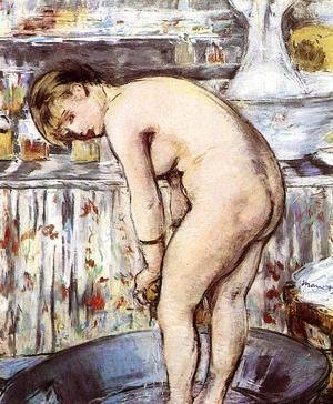 Edouard Manet - Woman in a Tub  1878-79