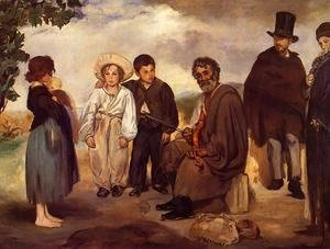Edouard Manet - The Old Musician  1862