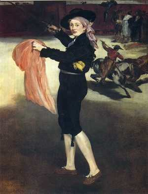 Edouard Manet - Mlle Victorine in the Costume of an Espada 1862