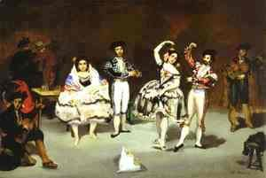 Edouard Manet - The Spanish Ballet