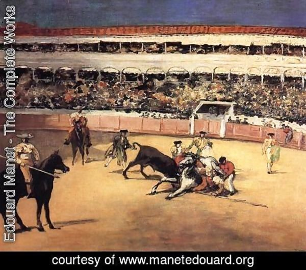 Edouard Manet - Bull Fighting Scene