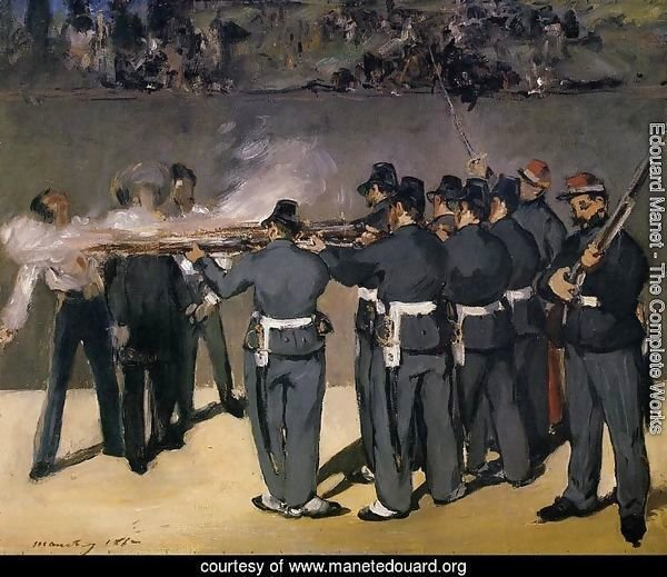 The Execution of the Emperor Maximilian  1867