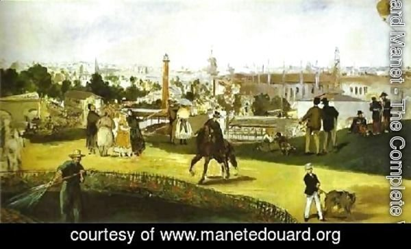 Edouard Manet - The Universal Exhibition