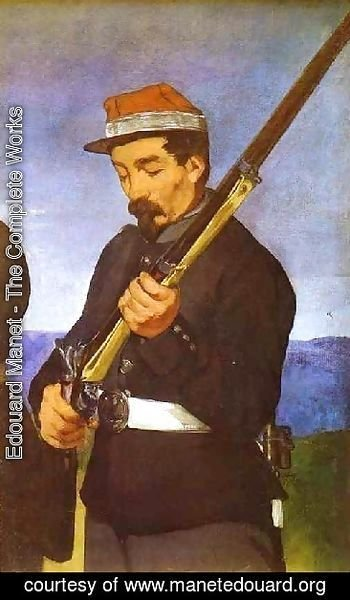 Edouard Manet - Soldier