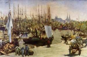 Edouard Manet - The Harbour At Bordeaux