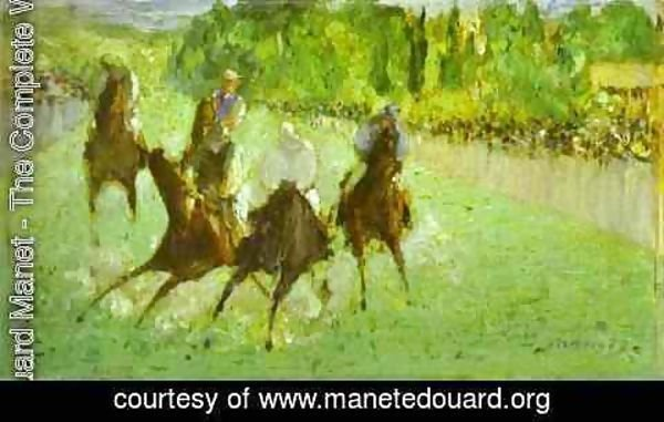 Edouard Manet - At The Races