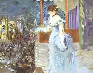 Edouard Manet - Singer At A Cafe Concert