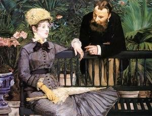 Edouard Manet - The Conservatory