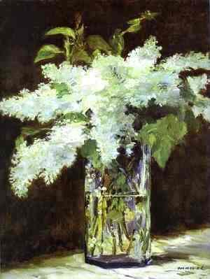 Edouard Manet - Lilac In A Glass