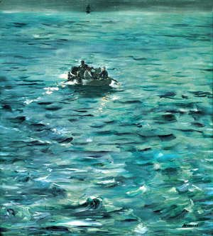 Edouard Manet - The Escape Of Rocherfort