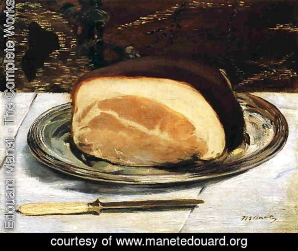 Edouard Manet - The Ham
