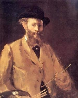 Edouard Manet - Self Portrait With A Palette
